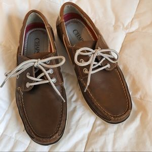 Chaps Boat Shoes